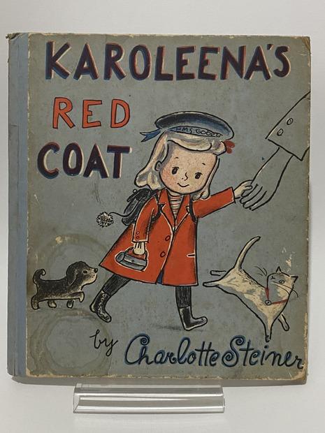 Karoleena's Red Coat by Charlotte Steiner