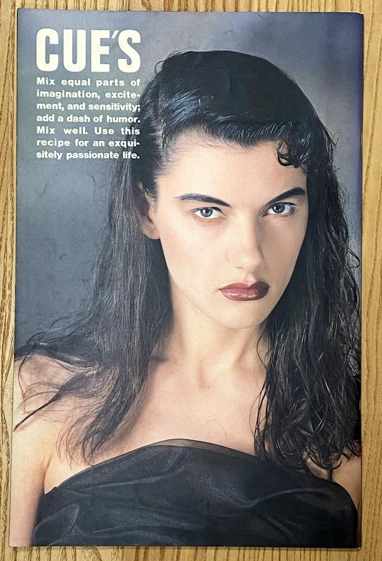CUE'S Vol.3 april 1987 夢