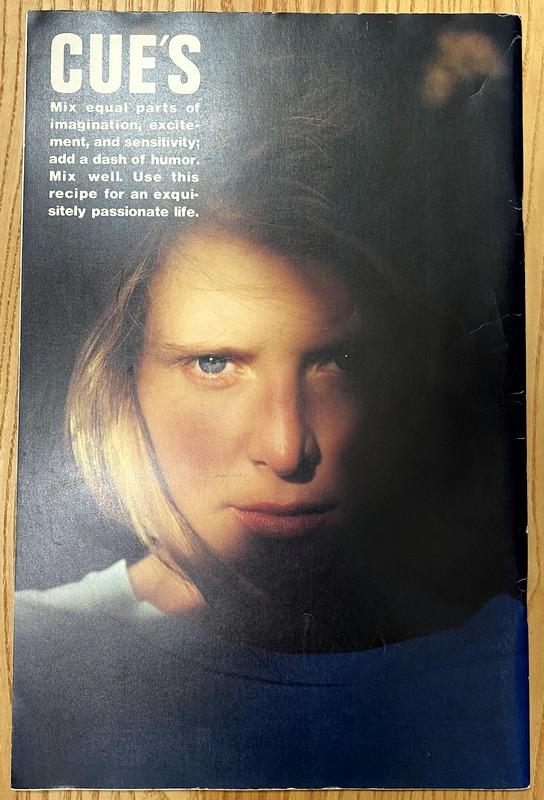 CUE'S Vol.2 november 1986 彩