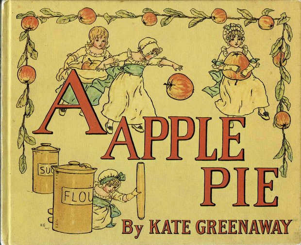 A APPULE PIE by Kate Greenaway