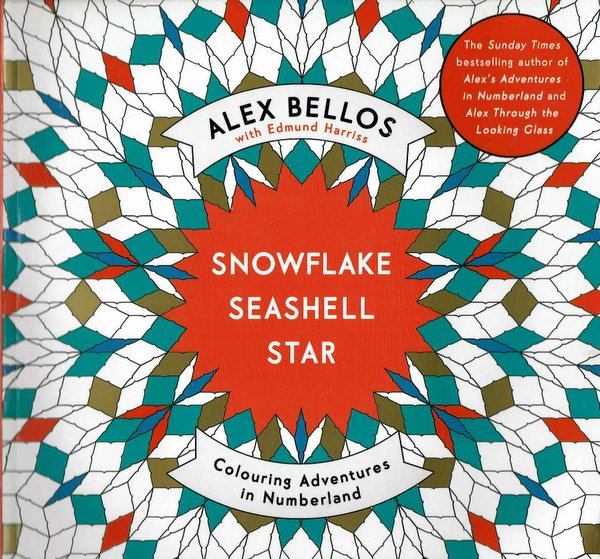 Snowflake Seashell Star: Colouring Adventures in Numberland