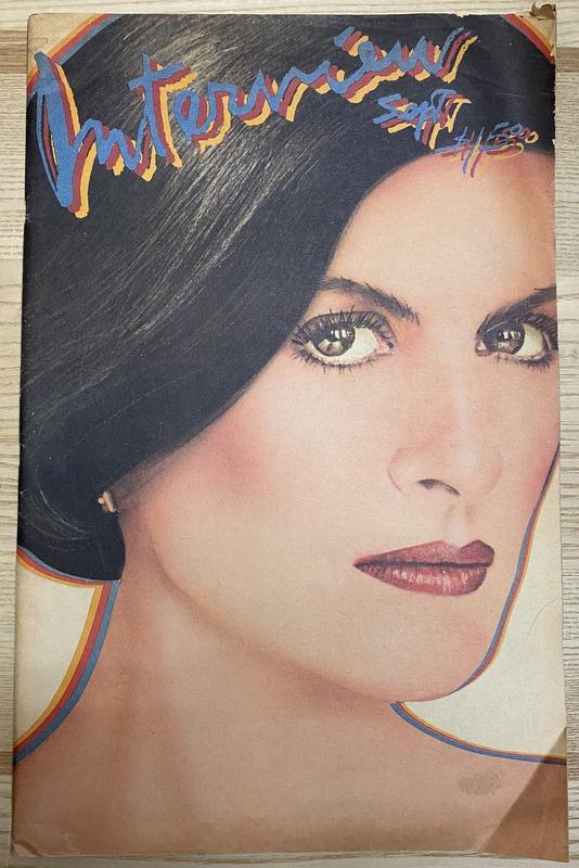 Interview Magazine 1980 Paloma Picasso