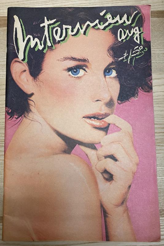 Interview Magazine August 1980 DEBRA WINGER