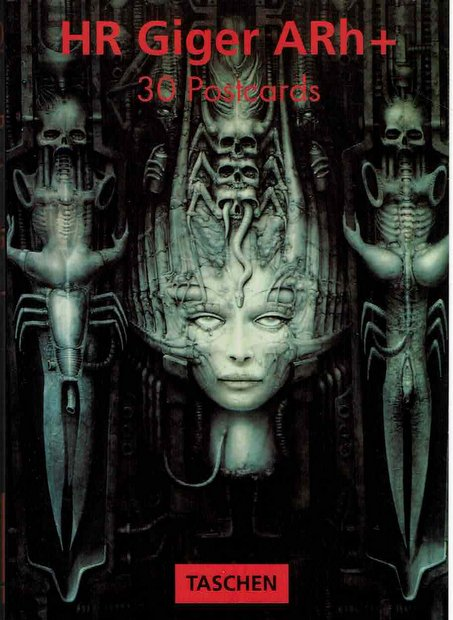 Hr Giger Arh+: 30 Postcards