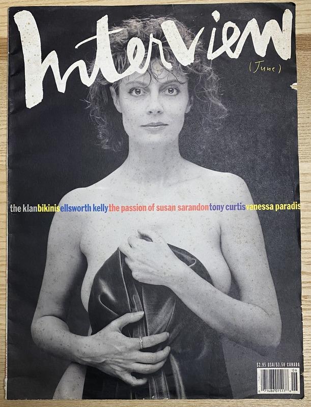 Interview Magazine June 1991 Susan Sarandon