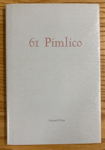 61 Pimlico:The Secret journal of Henry Hayler