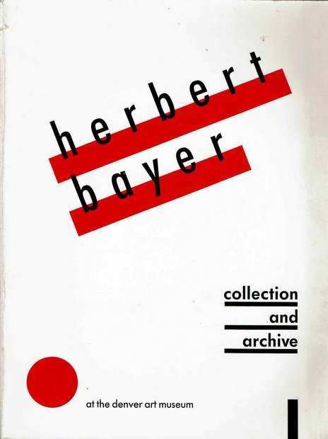Herbert Bayer: Collection and Archive at the Denver Art Museum
