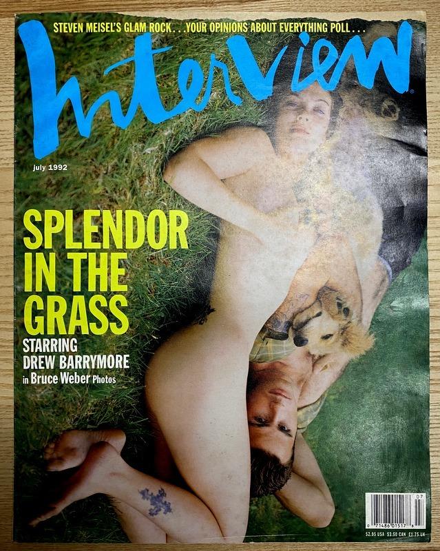Interview Magazine July 1992 Splendor In The Grass