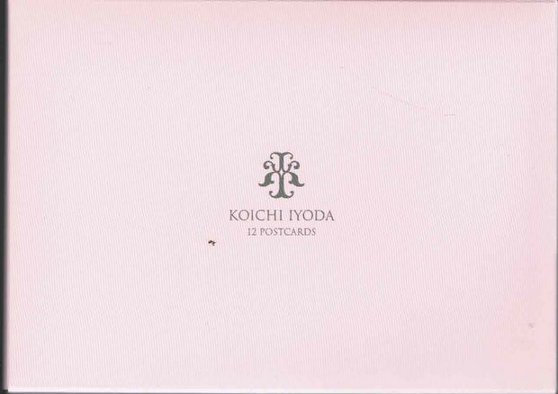 伊豫田晃一 ポストカード12枚セット:第三集「薔薇の肖像」(ピンクのケース)