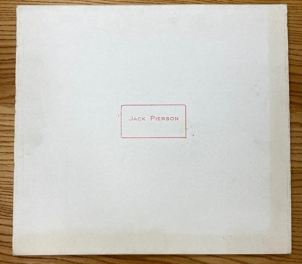 JACK PIERSON : PRETTY LIES ジャック・ピアソン写真集 サイン入