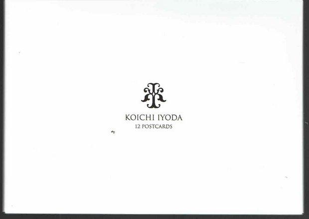 伊豫田晃一 ポストカード12枚セット:第一集「自選集」(白のケース)