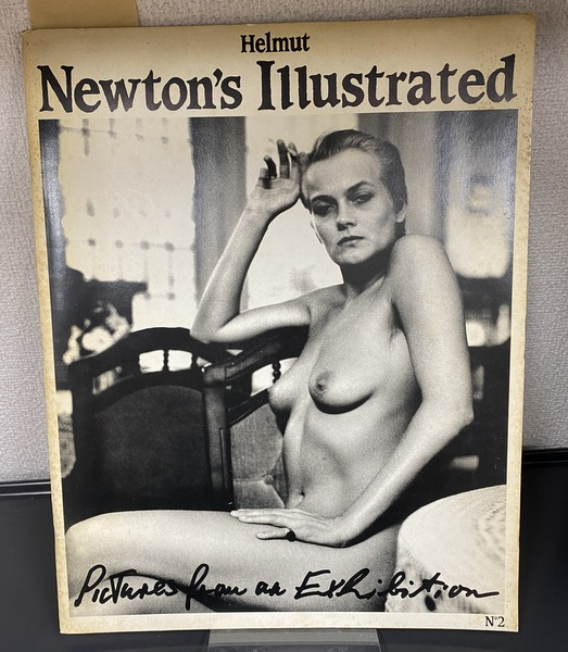 Helmut Newton's Illustrated No.2 Pictures from an Exhibition ヘルムート・ニュートン 洋書