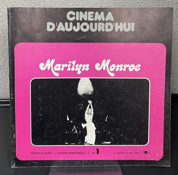 CINEMA D AUJOURDHUI Marilyn Monroe マリリン・モンロー 洋書