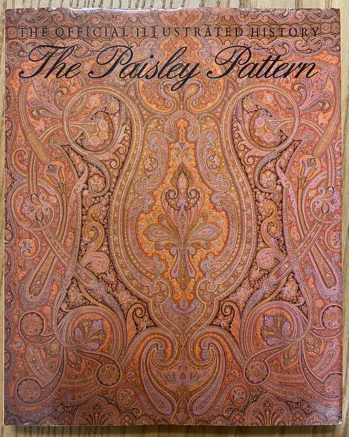 The Paisley Pattern the official illustrated history ペイズリー柄 洋書