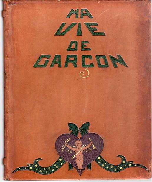 Ma Vie de Garcon by E.Blanche エロティック挿絵本