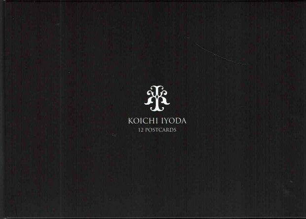 伊豫田晃一 ポストカード12枚セット:第二集「Reflection」(黒のケース)