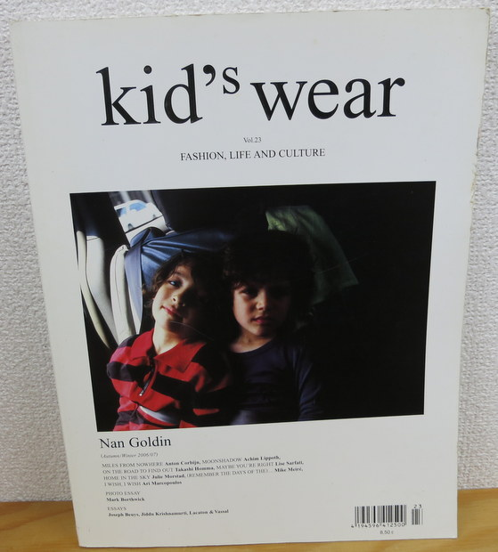 Kid's Wear  fashion life and culture 23 AUTUMN/WINTER 2006/07