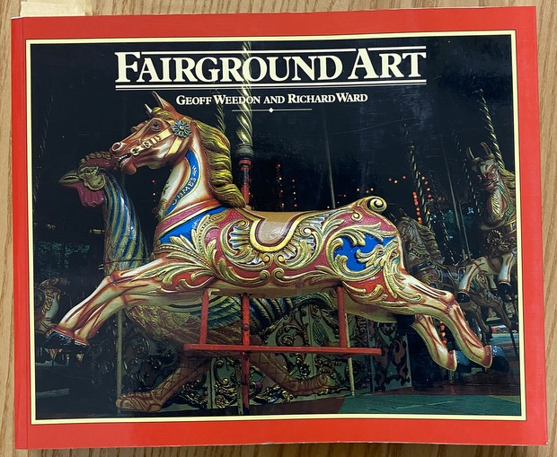 FAIRGROUND ART 著:Geoff Weedon&Richard Ward 遊園地 洋書