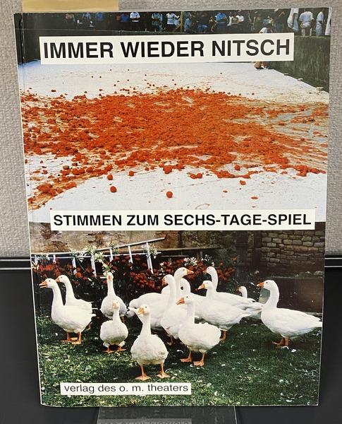 IMMER WIEDER NITSCH STIMMEN ZUM SECHS-TAGE-SPIEL ヘルマン・ニッチェ 洋書