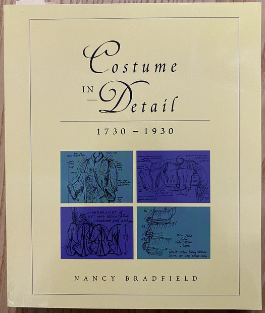 Costume in Detail Womens' Dress 1730-1930 著:Nancy Bradfield 女性ファッション 洋書