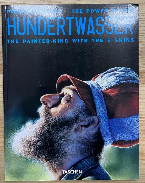 HUNDERTWASSER The Painter-King with The 5 Skins フンデルトヴァッサー 洋書