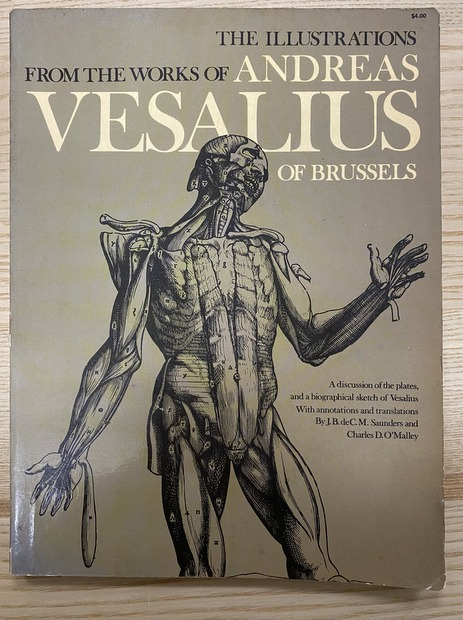The Illustrations from the Works of Andreas Vesalius of Brussels