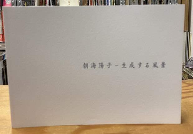 生成する風景 著:朝海陽子 展覧会図録