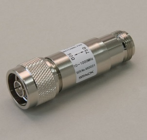 N型プラグ-NC型ジャックインピーダンス変換器【RoHS】 PD026