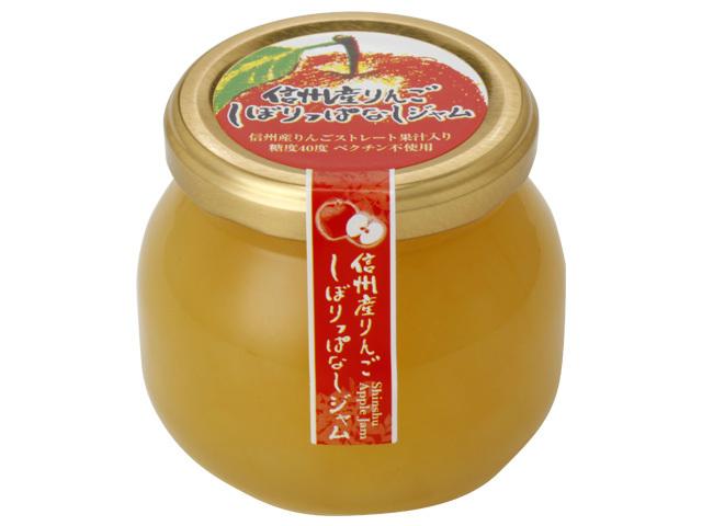 信州産りんご しぼりっぱなしジャム 商品