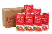 信州産りんごジュース 【しぼりっぱなし】 紙パック