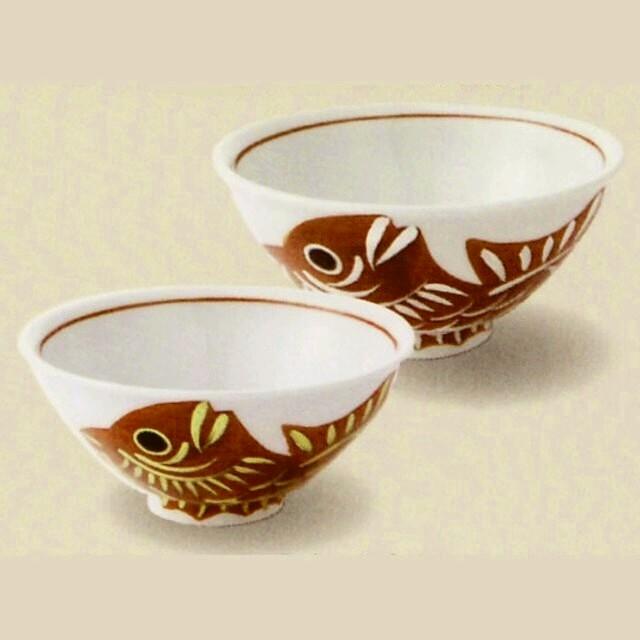 目出鯛 茶碗