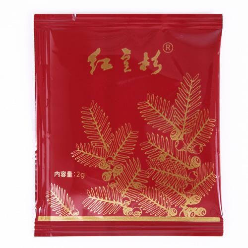紅豆杉,こうとうすぎ,コウトウスギの紅豆杉茶個包装の画像です。