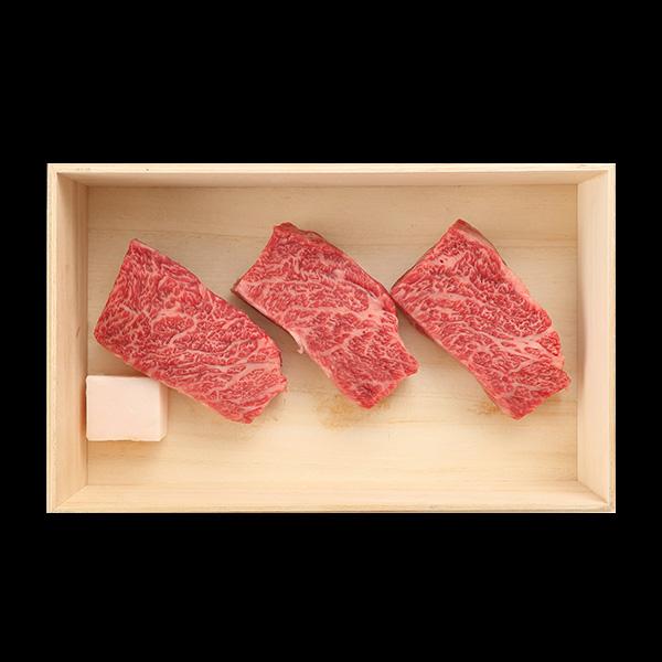 [ギフト]A5等級 神戸牛 カイノミ ステーキ 200g~400g