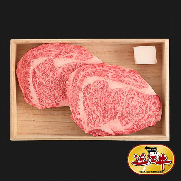 [ギフト] 認定近江牛リブロースステーキ 300g~1.2kg
