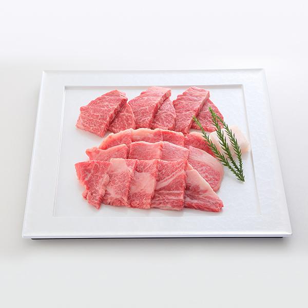 [家庭用]  A5等級神戸牛 リブロース・ランプ焼肉セット 400g~1kg