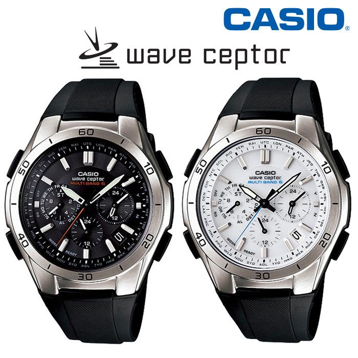 【送料無料】カシオ CASIO 電波ソーラーウォッチ WVQ-M410 wave ceptor ウェーブセプター マルチバンド6【国内正規品】【後払い不可】