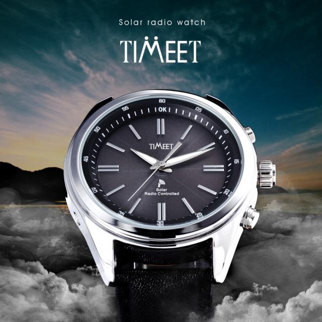 Timeet(ティミット)ソーラー電波時計