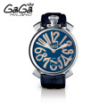 ガガミラノ GaGa MILANO 手巻き腕時計 マヌアーレ MANUALE 48mm ステンレス 5010.5