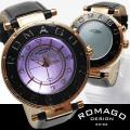 ROMAGO(ロマゴ)ミラー文字盤・ビッグフェイス腕時計AC-W-RM002-0055ST-BR