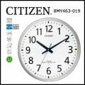 シチズン オフィスタイプ電波掛時計 スペイシーM463