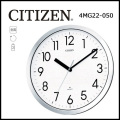 シチズン オフィスタイプ電波掛時計 スペイシーM522
