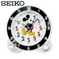 セイコー SEIKO 置き時計 FD461W ミッキー ディズニータイム 目覚し時計 時計  セイコークロック