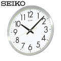 セイコー SEIKO 掛け時計 KH409S 時計  セイコークロック オフィス 金属枠