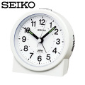 セイコー SEIKO 目覚まし時計 KR325W 置き時計 電波時計 アナログ 白  セイコークロック