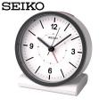 セイコー SEIKO 電波目覚まし時計 KR328W 置き時計 電波時計 アナログ 白  セイコークロック