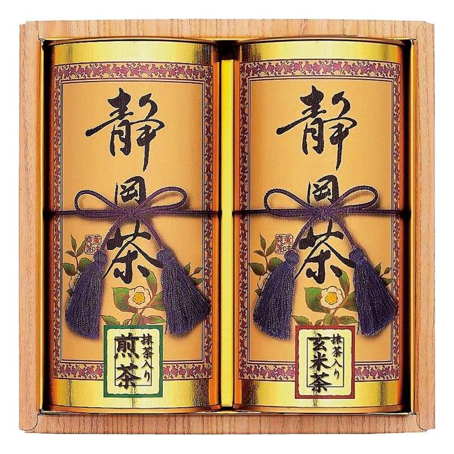 【送料無料】静岡銘茶詰合せ No.25