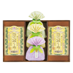 長崎製法カステーラ・緑茶詰合せ No.30