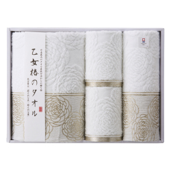 乙女椿のタオル タオルセット No.50