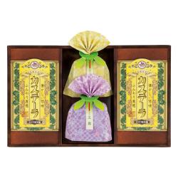 【送料無料】長崎製法カステーラ・緑茶詰合せ No.25