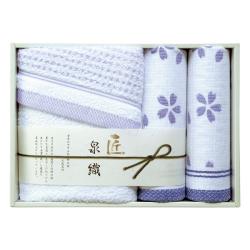 泉織 桜タオルセット No.30